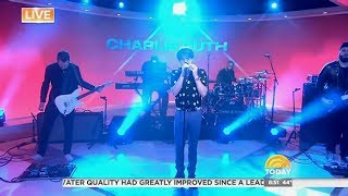 Charlie Puth - Done For Me - Today Show LIVE