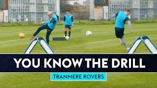 Can Bullard beat the top scorer in England?! | You Know The Drill | Tranmere Rovers