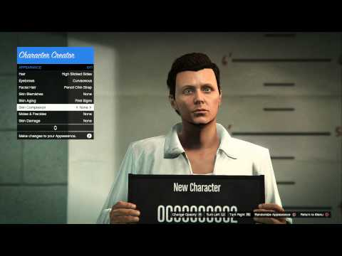 Gta v character creation presets videomoviles gta v online ps4 new character creator male voltagebd Image collections