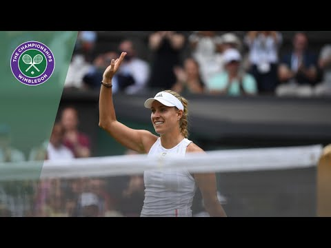 Angelique Kerber vs Tatjana Maria Wimbledon 2019 first round highlights