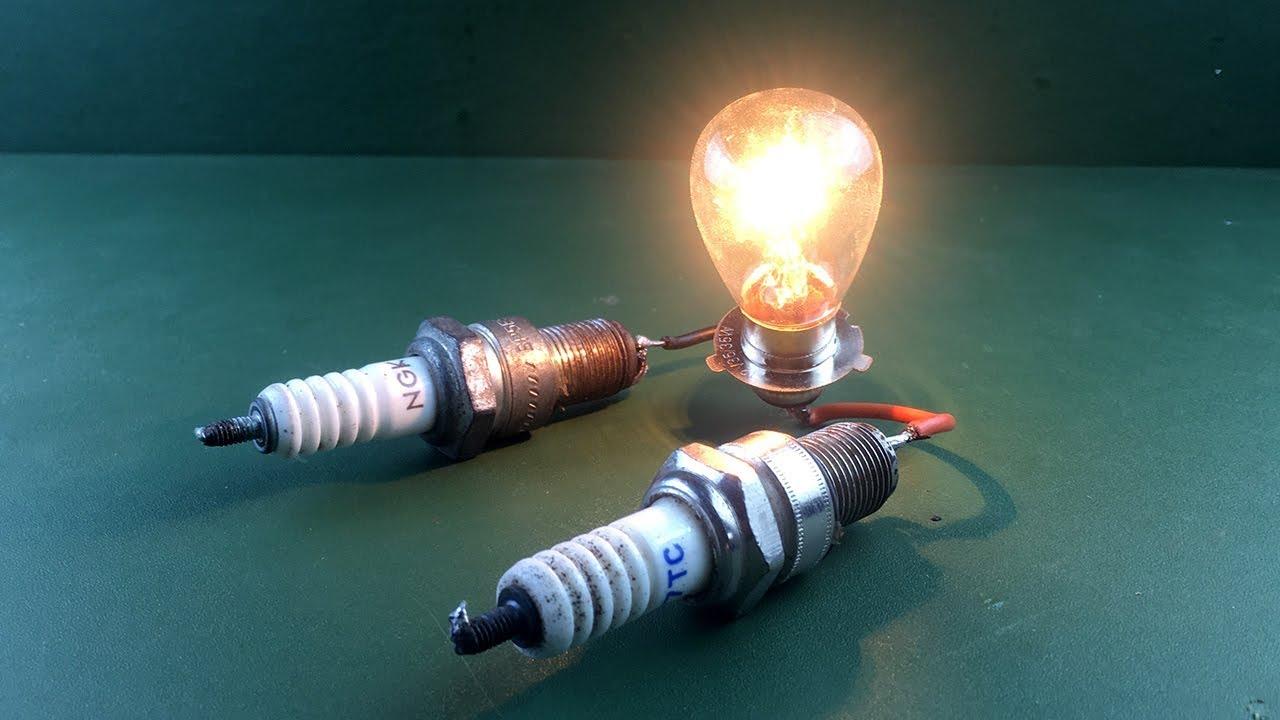 e52a469041e Tube.uz -Free Energy Generator Magnets With Light Bulb Using Spark Plug New  Science Project - Tube.uz