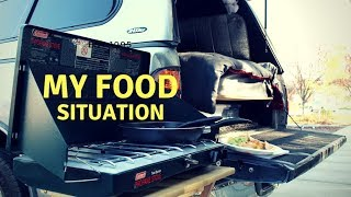 How I Cook/What I Eat Living In My Truck