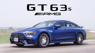 2019 Mercedes-AMG GT63S 4 Door Coupe Review - Most Powerful 4 Door Mercedes Ever Built