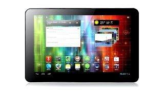 Prestigio MultiPad 4 Quantum 10.1 - большой металлический планшет - видео обзор