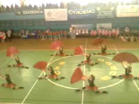 Odessa cherliding. Танец с веерами