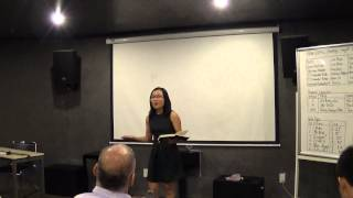 Evaluator Tom Le's speech - Lan Anh Nguyen