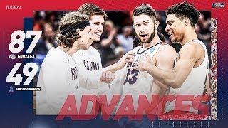 Gonzaga vs. Fairleigh Dickinson: First Round NCAA Tournament extended highlights