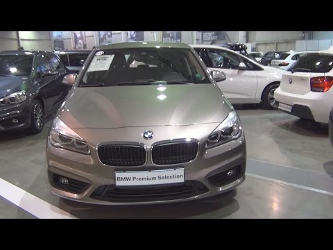 BMW 218i Active Tourer (2016) Exterior and Interior in 3D