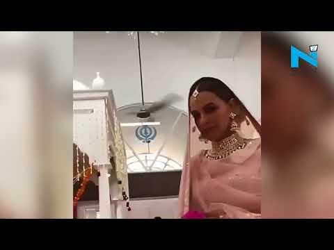 Neha Dhupia's wedding video goes viral