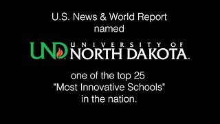 US News and World Report ranks UND in Top 25 Innovative Schools