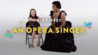 Kids Meet an Opera Singer | Kids Meet | HiHo Kids
