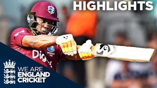 Lewis Hits Stunning 176 Before Buttler And Ali Fight Back | England v West Indies 4th ODI 2017
