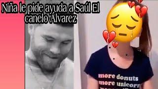 """Niña le pide ayuda 😭 a Saúl """"El canelo"""" Álvarez y el le responde como un verdadero Campeón!!"""