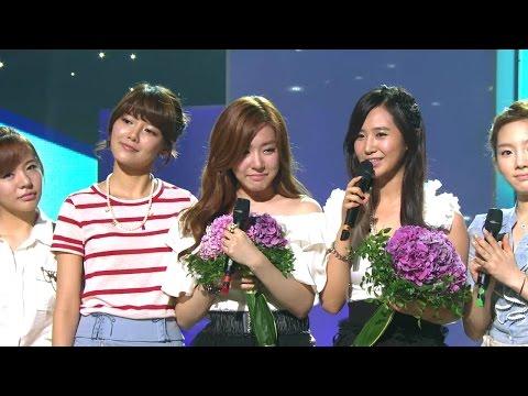 【TVPP】Yuri&Tiffany(SNSD) - Baby Baby (Goodbye Stage for MC), 베이비 베이비 @ Show Music Core Live