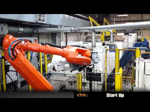 IRBS US - Robotic cell for CNC tending in TEXAS ARAI