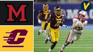 Miami (OH) vs Central Michigan Highlights | 2019 MAC Championship