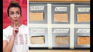 Which Nut Butter Is Best?   Taste Test with Julie Nolke