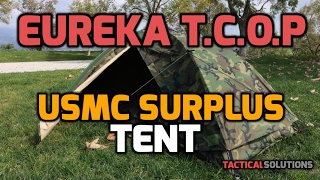 Eureka TCOP - USMC Surplus Combat Tent (Tent Combat One Person) - 1080P HD