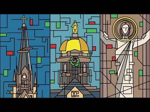 Merry Christmas from Notre Dame 2016