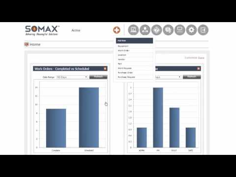 Add New Equipment record - SOMAX CMMS Tutorials