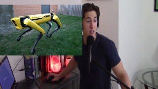 The New SpotMini WOAH! Breakdown Reaction