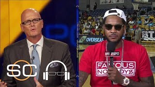 Carmelo Anthony Reveals Where He's Found Peace This Offseason | SC with SVP | ESPN