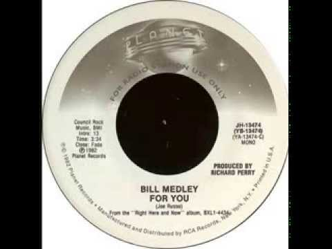 Bill medley for you - Magazine cover