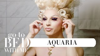 RuPaul's Drag Race Star Aquaria's Nighttime Skincare Routine | Go To Bed With Me | Harper's BAZAAR