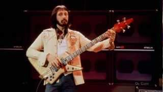 The Who- Baba O'Riley- John Entwistle's isolated bass (live) HQ SOUND