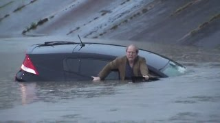 What To Do If Your Vehicle Is Being Submerged in Rising Floodwaters