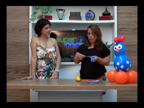 Baixar Aprenda a fazer GALINHA PINTADINHA com balões no Super Mais!
