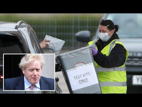 Boris Johnson vows to ramp up testing to 'solve' coronavirus puzzle