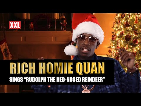 "Rich Homie Quan Sings ""Rudolph the Red-Nosed Reindeer"""