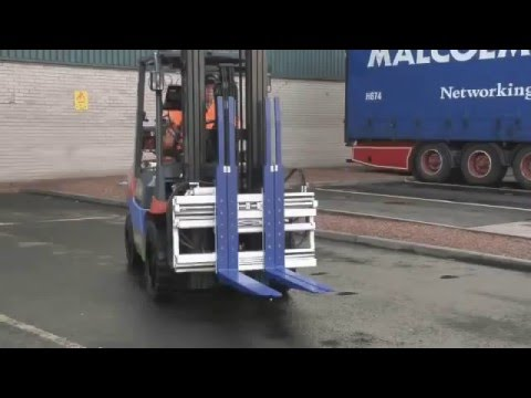 Single Double Pallet Handler