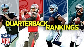 Ranking the NFL QB's from Worst to First   NFL Highlights
