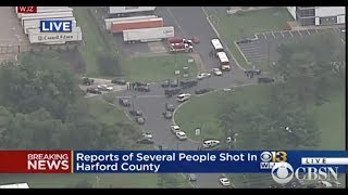 Maryland Shooting   3 people dead in Aberdeen, Harford County