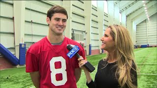 Andy Adler goes one-on-one with new Giants QB Daniel Jones