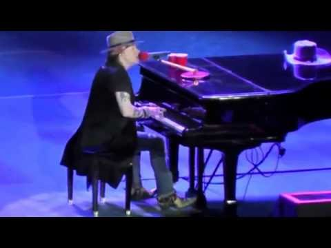 Guns N Roses - November Rain - Live San Diego Qualcomm - 8-22-16