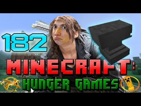 Minecraft: Hunger Games W/Mitch! Game 182 - Christmas In A Hole 2.0 - Summer With Anvils! - Smashpipe Games