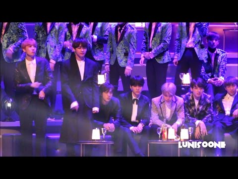 [HD] 161202 BTS Reaction to ZICO CRUSH DEAN Stage in MAMA HK