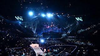 Shooting the MTV European Music Awards 2014