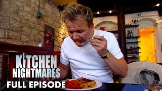 Gordon Ramsay Immediately Spits Out Vegetarian Dish | Kitchen Nightmares FULL EPISODE