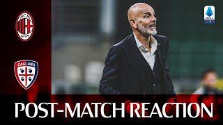 #MilanCagliari | Post-match reactions