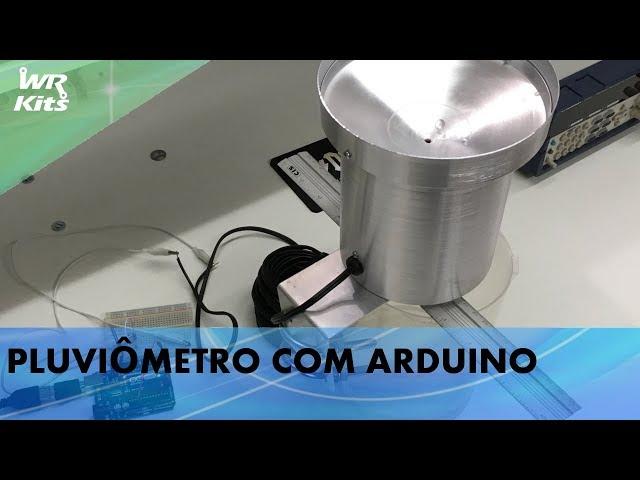 MEDIDOR DE CHUVA (PLUVIÔMETRO) COM ARDUINO