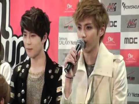EXO Kris speaking english compilation