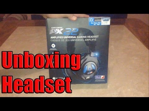 UNBOXING: Headset Ear Force PX22 Turtle Beach Español - Smashpipe Games