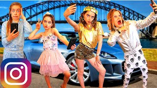 WHICH KID TAKES THE BEST INSTAGRAM PHOTO? *Celebrity Judges* Challenge w/ The Norris Nuts