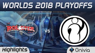 KT vs IG Game 2 Highlights Worlds 2018 Playoffs KT Rolster vs Invictus Gaming by Onivia