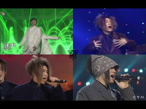 H.O.T. we are the future 4분할(1997-2018),  좌우음성분리(L:2018, R:1997)