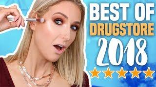 BEST DRUGSTORE MAKEUP of 2018... SO IMPRESSED!